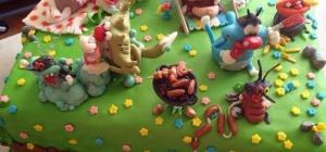 Торт своими руками с мастикой: украсьте детский праздник