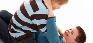 Ребенок дерется в школе, что делать