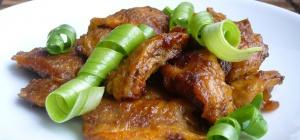 Как приготовить тушеную говядину по-китайски