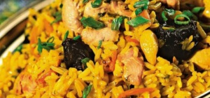 Как приготовить плов из куриного филе и риса