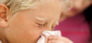 Почему ребенок часто чихает