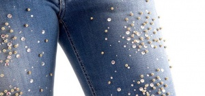 Как выбрать джинсы со стразами