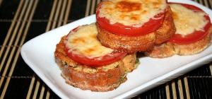 Как приготовить гренки с сыром