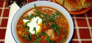 Красный борщ - рецепт приготовления