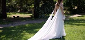 Какое свадебное платье подойдет стройной девушке