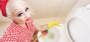 Как отмыть старый унитаз