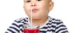 Из чего можно сварить компот грудному ребенку