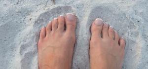 Как лечить кожу на ступнях