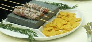 Как готовить на раскаленном камне