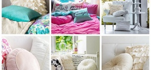 Как можно использовать подушки в интерьере