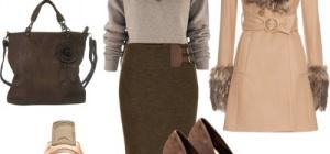 Как стильно одеться на работу зимой?