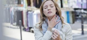 Почему возникает боль в горле