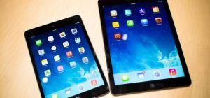 Сравнение iPad Air и iPad Mini