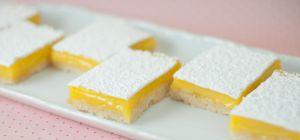 Как приготовить лимонное пирожное