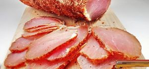 Сыровяленая свинина по-белорусски (полендвица)