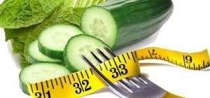 Безвредная овощная диета