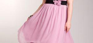 Как выбрать платье пышной девушке