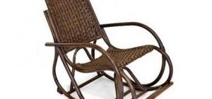 Кресло-качалка из ротанга tetchair