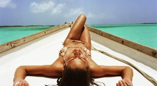 How to sunbathe correctly