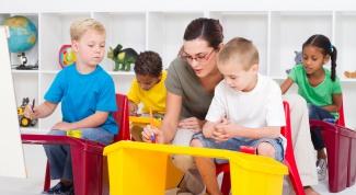 How to arrange child in kindergarten
