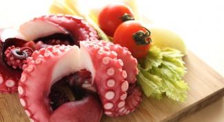 Как приготовить осьминога