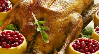 Как готовить гуся: старинный рецепт