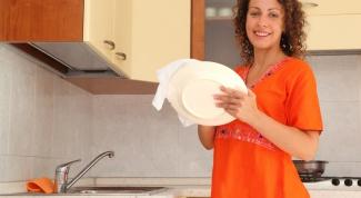 Как мыть посуду