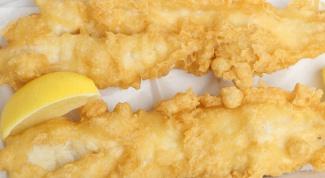 How to cook tempura