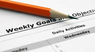 Как ставить себе достижимые цели