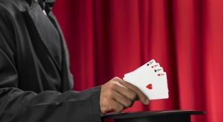 Как делать фокусы с картами