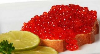 How to cook salmon caviar