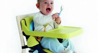 Как выбрать стул для кормления