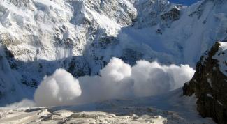 Как спастись от лавины