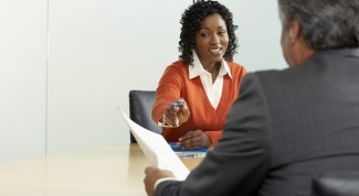 How to conduct an interview with a sales representative