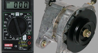 How to check alternator with multimeter