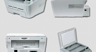 Как сканировать Samsung scx 4100