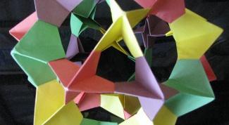 Как сделать звезду из картона