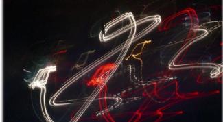 Как сделать световое граффити