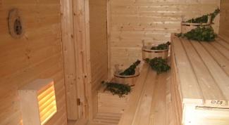 Как построить полки в бане
