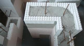 Как построить дом из несъемной опалубки