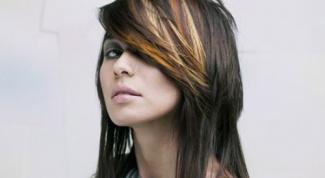 Как окрасить мелированные волосы