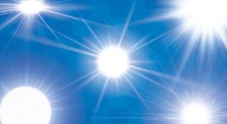 Как убрать солнечные блики