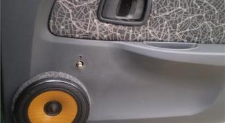 How to install speakers in front doors