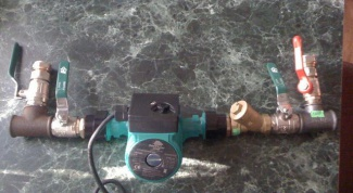 How to install the circulation pump in the heating system