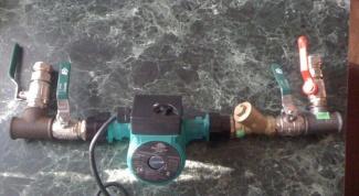 установить циркуляционный насос в систему отопления