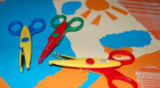 Как научить ребенка вырезать ножницами