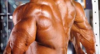 Как накачать мышцы быстро без химии