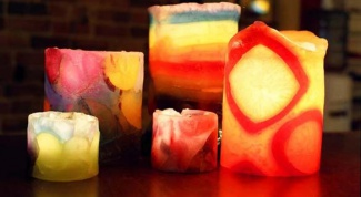 Как изготовить парафиновые свечи