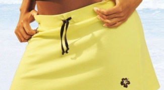 How to sew a beach skirt