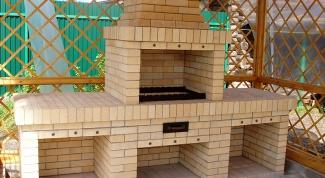 Как построить кирпичный мангал
